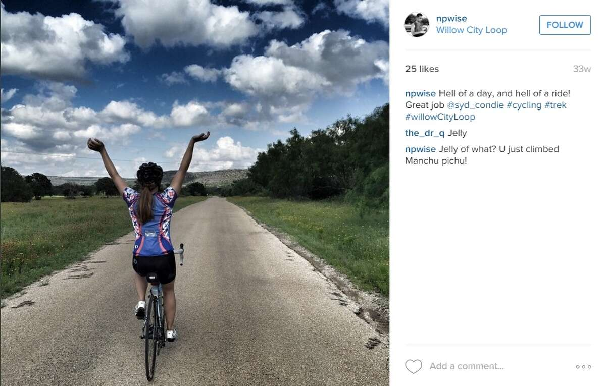 1. Bike Willow City Loop Just north of Fredericksburg is the Willow City Loop, a 13-mile winding road along the Hill Country's famous Highway 16. Just like in this photo by @npwise, the road is known for its panoramic views of wildflowers, pecan trees and oak trees.