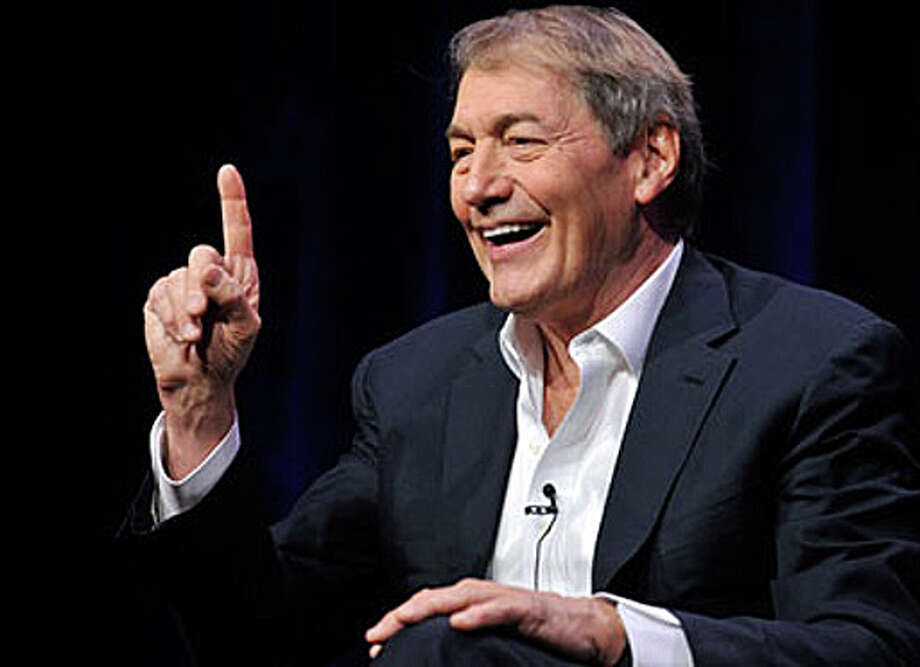 Charlie Rose, journalist and television talk-show host, will speak at a Jan. 24 program marking the 25th anniversary of the Quick Center for the Arts at Fairfield University. Photo: Associated Press / Associated Press / Fairfield Citizen