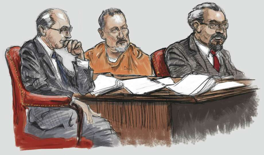 Murder over Hells Angels vest in Bandidos country.An FBI agent testified that Bandidos were believed to be behind a 2006 Austin murder of Anthony Benesh who was shot by a sniper while leaving a pizza place there. He had been wearing a Hells Angels riding vest despite allegedly being told by the Bandidos that he could not do so in Texas, which is Bandidos territory, and that he would be killed if he didn't stop. No one has been charged.Sources who were not part of the  hearing have said Benesh was not really a Hells Angel, but that he had drawn the attention of Bandidos and real Hells Angels who would both have a reason to harm him.The Bandidos and Hells Angels are decades-long rivals and Hells Angels are forbidden from setting up chapters in Texas the same way Bandidos can't open up shop in California. Hells Angels have previously ridden through Texas with their cuts, but only do so after asking Bandidos permission in advance.