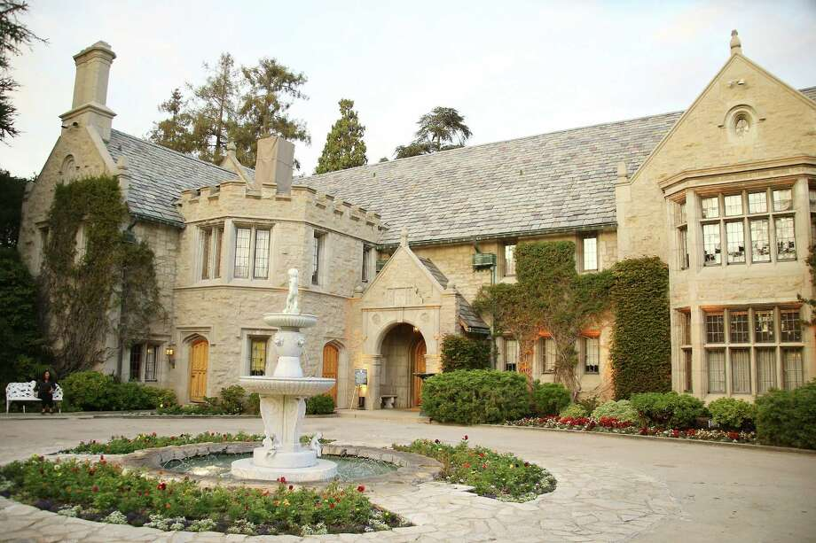 "A general view of the Playboy Mansion at ""The Transporter Refueled"" Los Angeles screening held at The Playboy Mansion on August 25, 2015 in Los Angeles, California. Photo: Michael Tran, Getty Images / 2015 Michael Tran"
