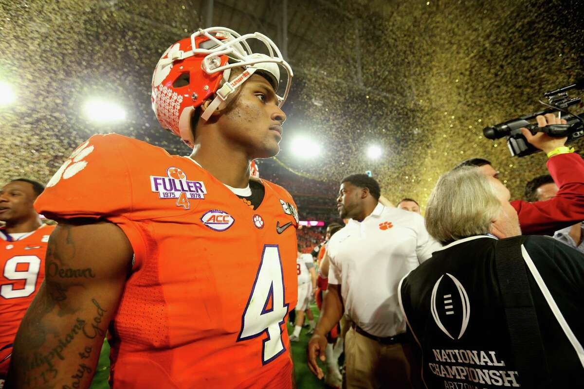Clemson quarterback Deshaun Watson gave the Alabama defense all it could handle, throwing for 405 yards and four touchdowns.