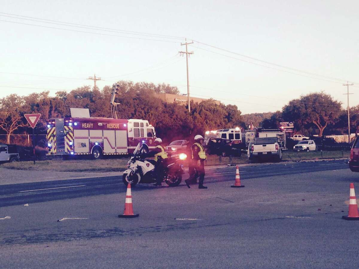 Bexar County Sheriff's deputies are investigating a crash in north Bexar County that left one person dead Jan. 12, 2016.