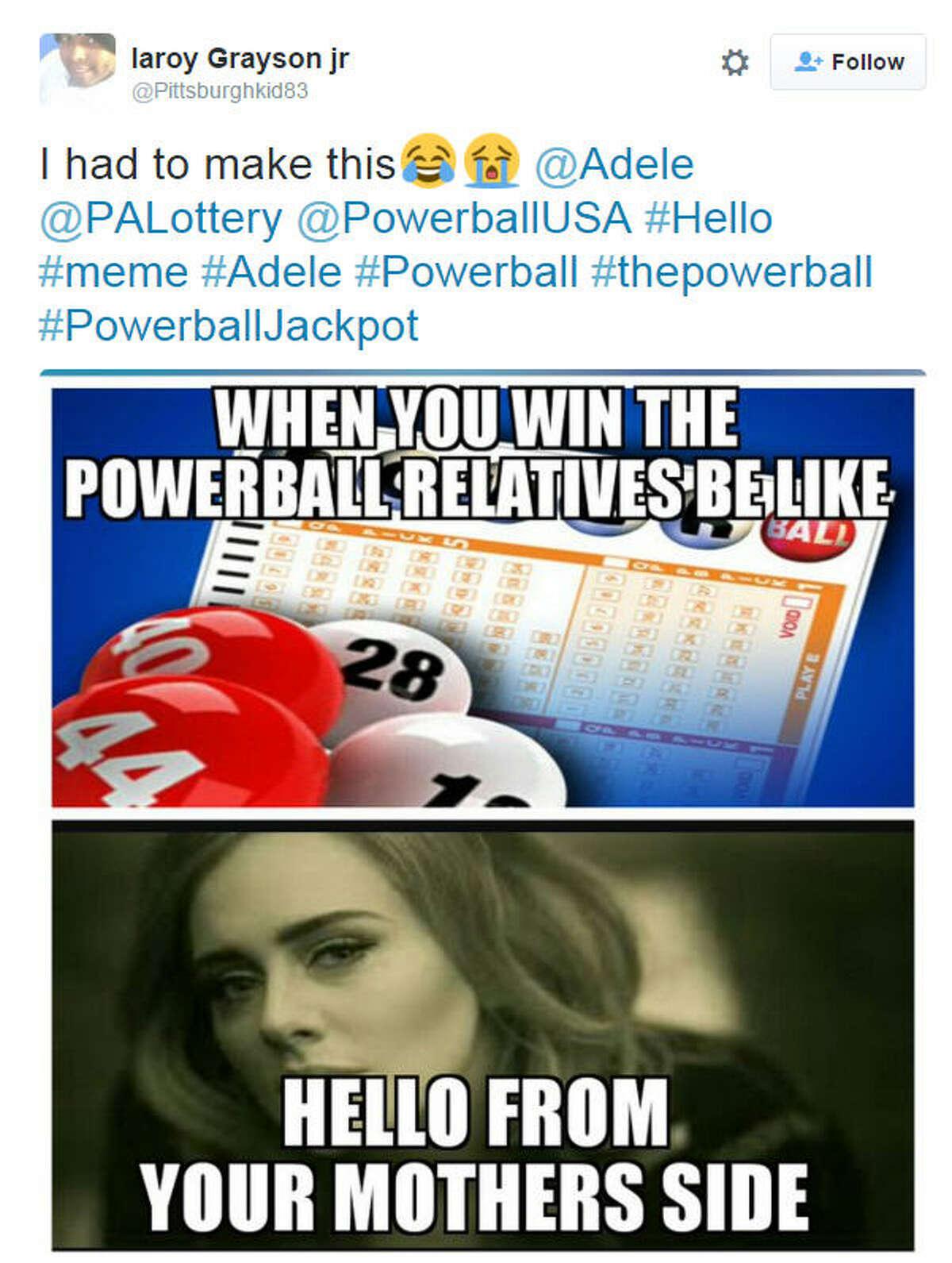 Powerball meme via @Pittsburghkid83 on Twitter