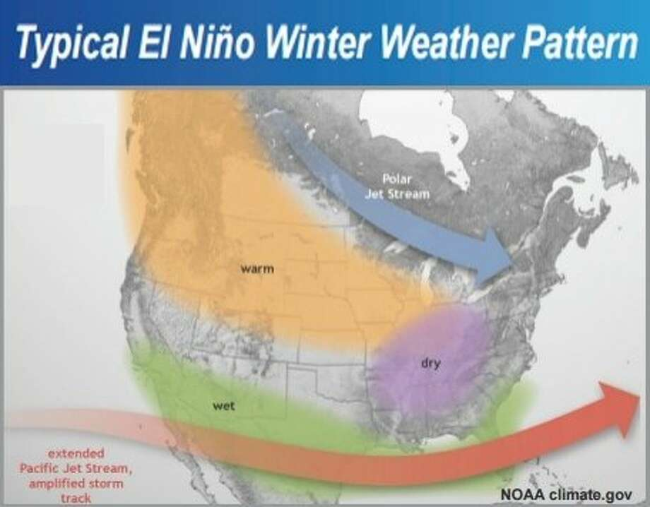 A fresh round of El Niño-influenced storms are poised to soak the Bay Area this week. Photo: NWS