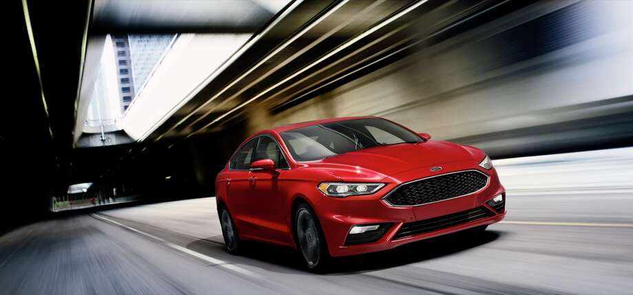 The 2017 Fusion V6 Sport. Photo: Ford