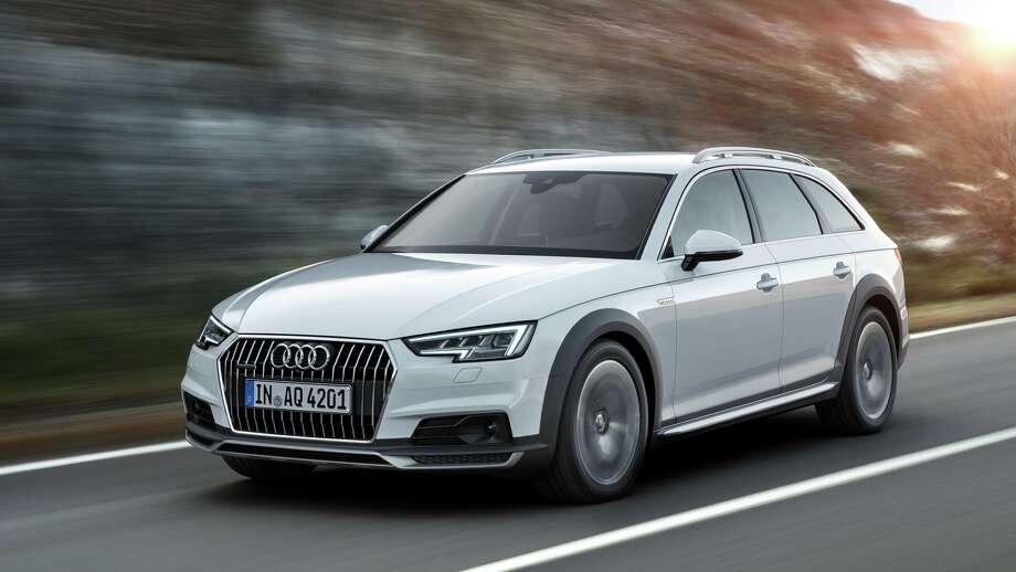 The Audi A4 Allroad Quattro Photo: Audi