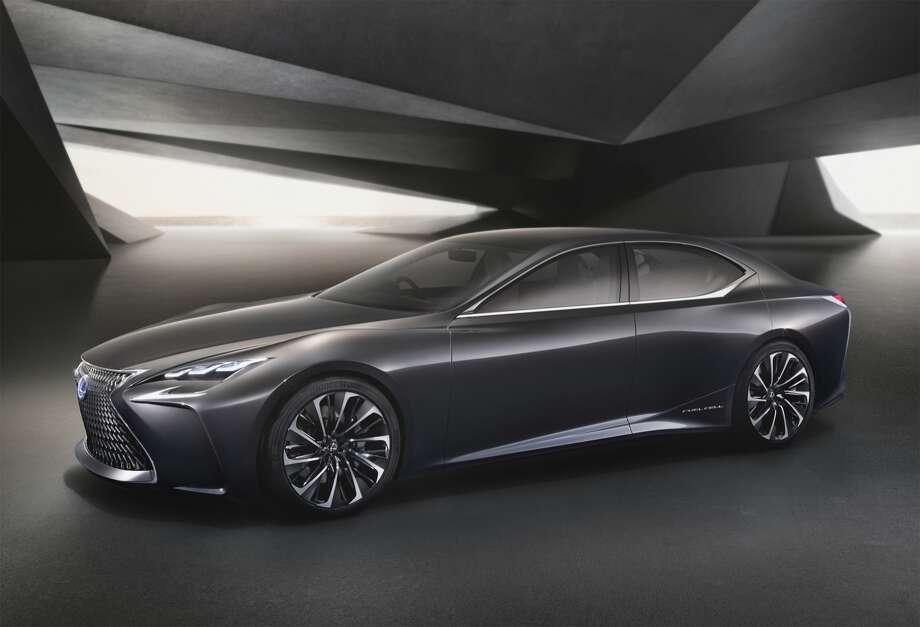 The Lexus LF-FC concept Photo: Lexus