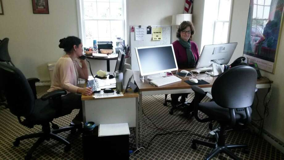 Left to right, Anita Lai and Betsy Coons of Community Answers. Photo: /