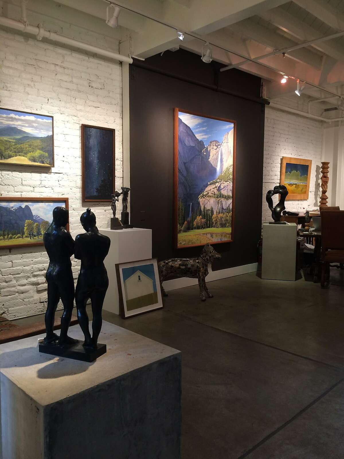 The Erickson Gallery's next show opens Saturday.