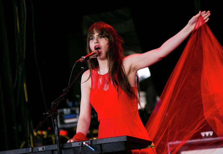 9 bands to watch at SXSWLe Butcherettes: Teri Gender Bender leads the provocative rock band from Mexico. Photo: Scott Legato, Getty Images / 2015 Scott Legato