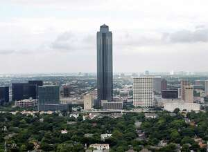 Williams Tower, near the Galleria, is among the highest-valued buildings within the Houston Independent School District. Districts across the state make recapture payments to the Texas Education Agency.