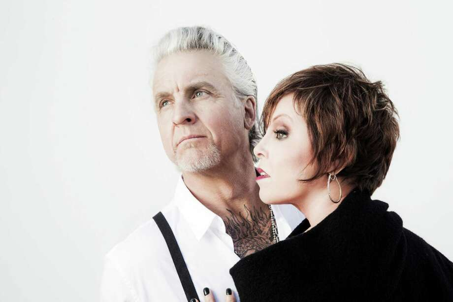 Pat Benatar and Neil Giraldo play the Jefferson Theatre on Feb. 20, 2016. Photo: Provided By The City Of Beaumont