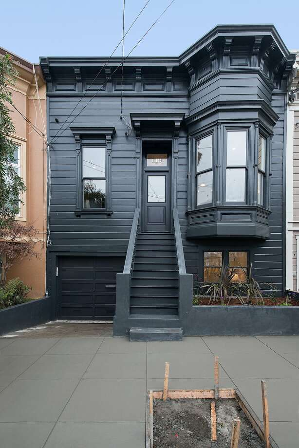Noe Valley Victorian Houses Modern Interior Sfgate