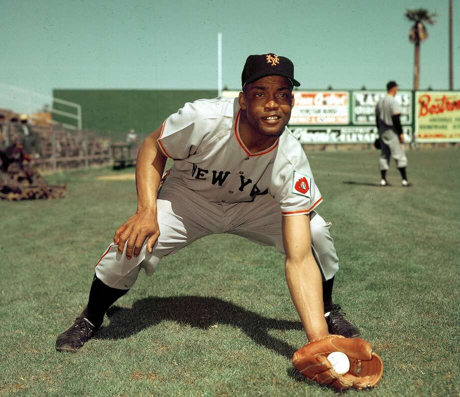 FILE- In this 1952, file photo, San Francisco Giants infielder Monte Irvin poses during spring training. Irvin, a Hall of Fame power-hitting outfielder who starred for the New York Giants in the 1950s in a career abbreviated by major league baseball's exclusion of black players Monday night, Jan. 11, 2016, of natural causes at his Houston home. He was 96.  (AP Photo/File) Photo: Associated Press