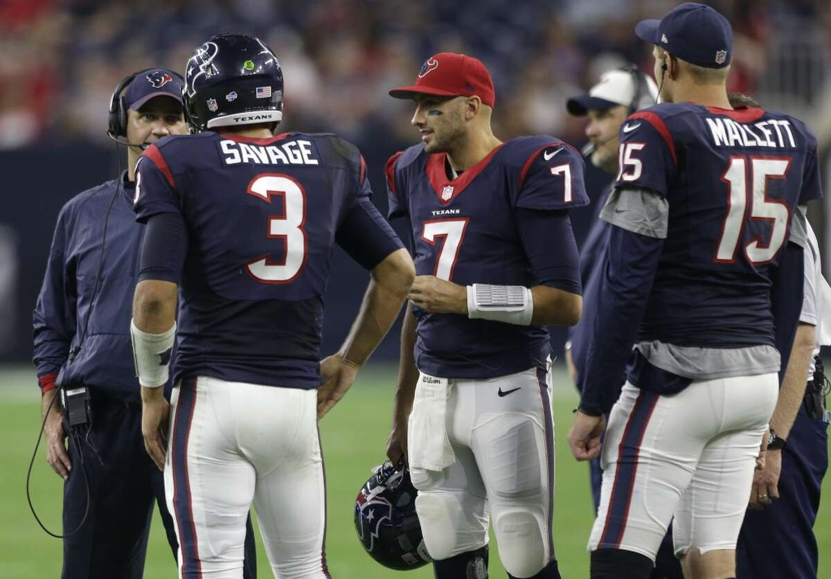 Once again, the Texans likely will be looking to upgrade at quarterback after a merry-go-round at the position in 2015. Click through the gallery for some possible free-agent options Houston may have.