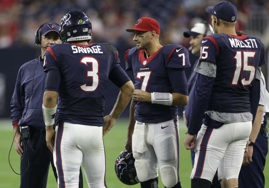 Once again, the Texans likely will be looking to upgrade at quarterback after a merry-go-round at the position in 2015.