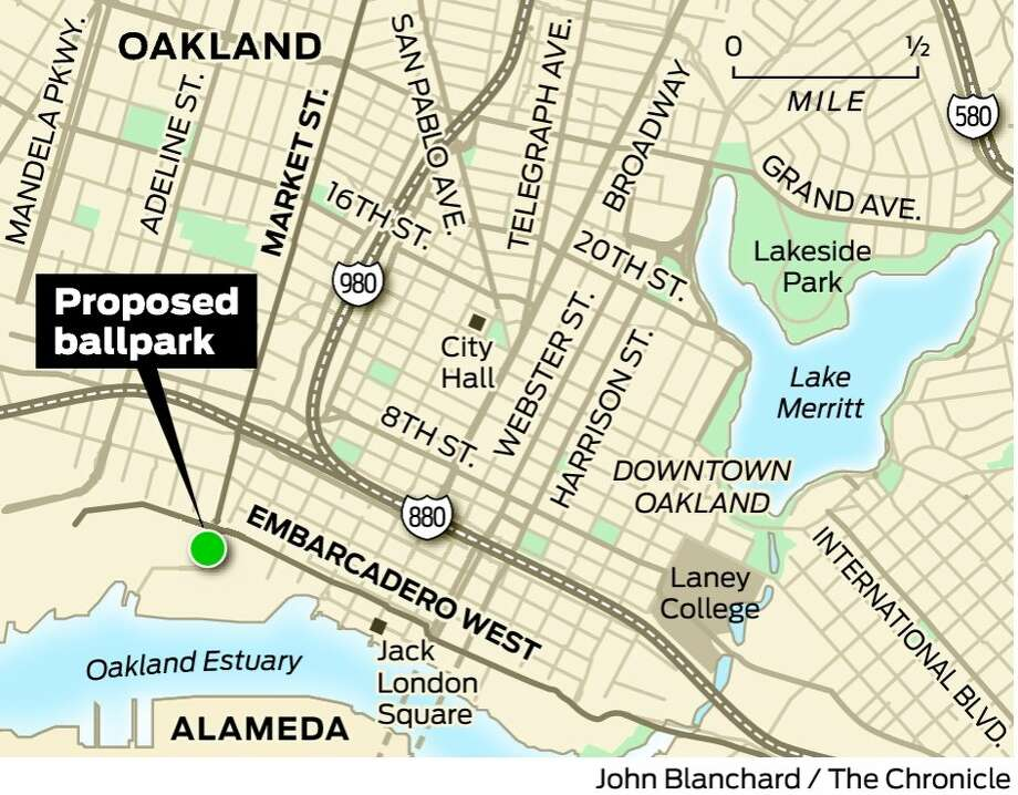 As Raiders dominate headlines Oakland scouts for new A s home
