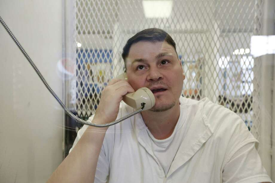 Richard Masterson convicted of capital murder in the strangling of a female impersonator is interviewed at the Polunksy Unit Death Row Wednesday, Jan. 6, 2016, in Livingston, Tx. Masterson was convicted in the slaying of Darin Shane Honeycutt, who was known by the stage name of Brandi Houston. Honeycutt's nude body was found Jan. 27, 2001, at his apartment in Montrose. ( Steve Gonzales  / Houston Chronicle  ) Photo: Steve Gonzales / © 2016 Houston Chronicle