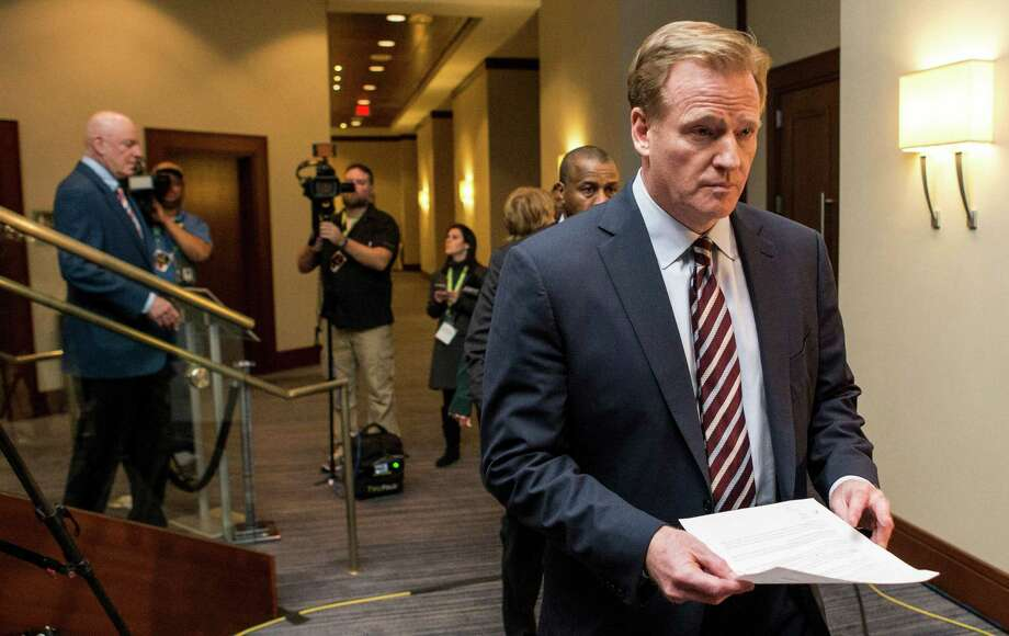 NFL commissioner Roger Goodell made $32 million in 2015.Click through the gallery to see the highest-paid CEOs in each state. Photo: Brett Coomer, Houston Chronicle / © 2016 Houston Chronicle