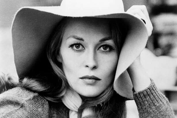 American actress Faye Dunaway, as Lou, in a promotional portrait for 'Puzzle Of A Downfall Child', directed by Jerry Schatzberg, 1970.