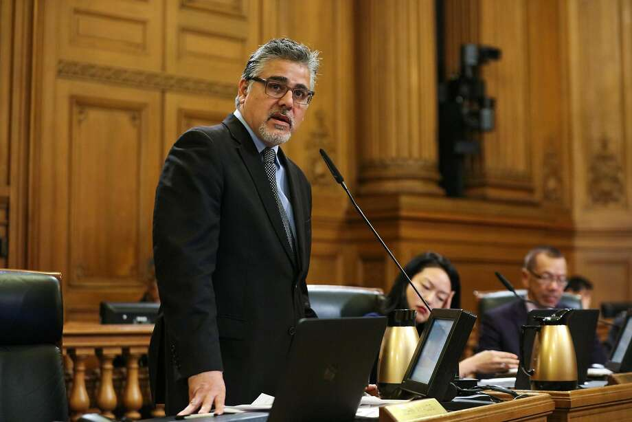 Supervisor John Avalos isn't pleased with his new committee assignments. Photo: Gabrielle Lurie, Special To The Chronicle