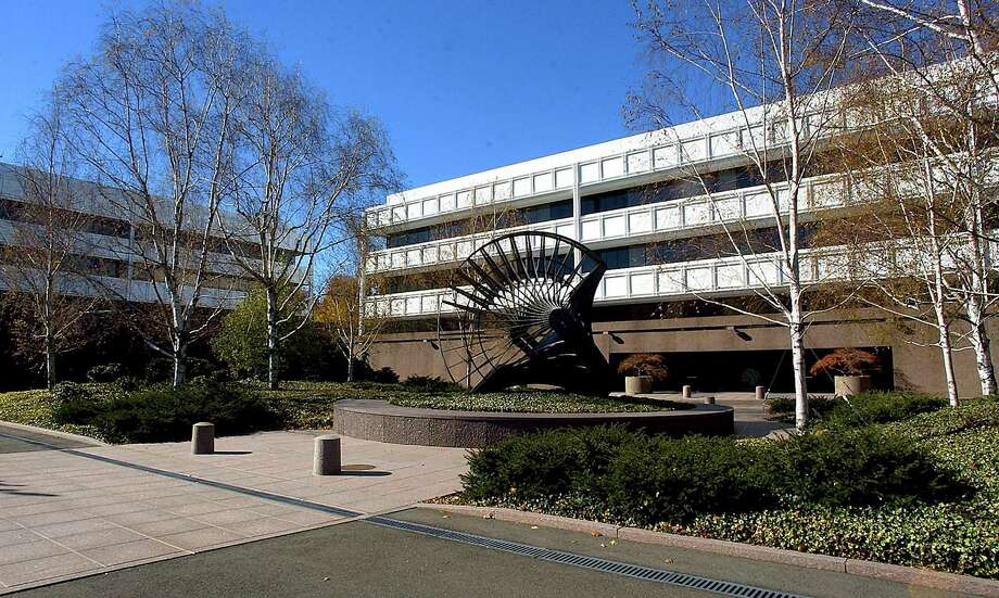 A view of General Electric's corporate headquarters in Fairfield. Photo: Bob Child / Associated Press / AP