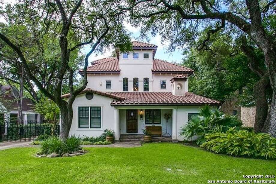 1. 222 Tuxedo Ave., Alamo Heights, Texas 78209:$1.2 millionSquare feet: 4,483Beds: 5Baths: 5.5 Photo: Courtesy, Allison Hayne Via MySA.com