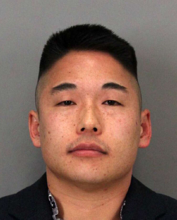 Benjamin Lee, 33, was arrested on Sunday January 10, 2016 for suspicion of driving under the influence and brandishing a firearm. Photo: Santa Clara Police Dept.