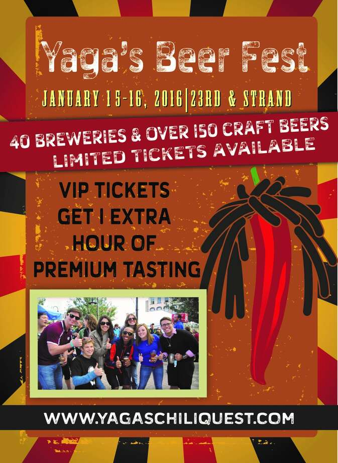 Sample more than 150 beers from 40 craft breweries on Saturday, Jan. 16, 2016.