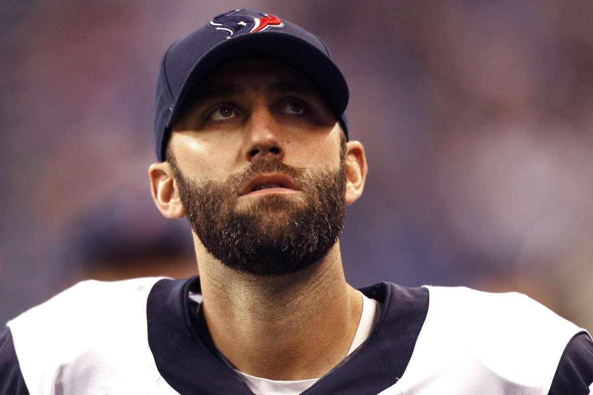 Matt Schaub, who led the Texans to their first two division titles, says he still has a lot left in the tank despite turning 34 this offseason. Click through the gallery for a look at the team's history at the most important position in all of sports.