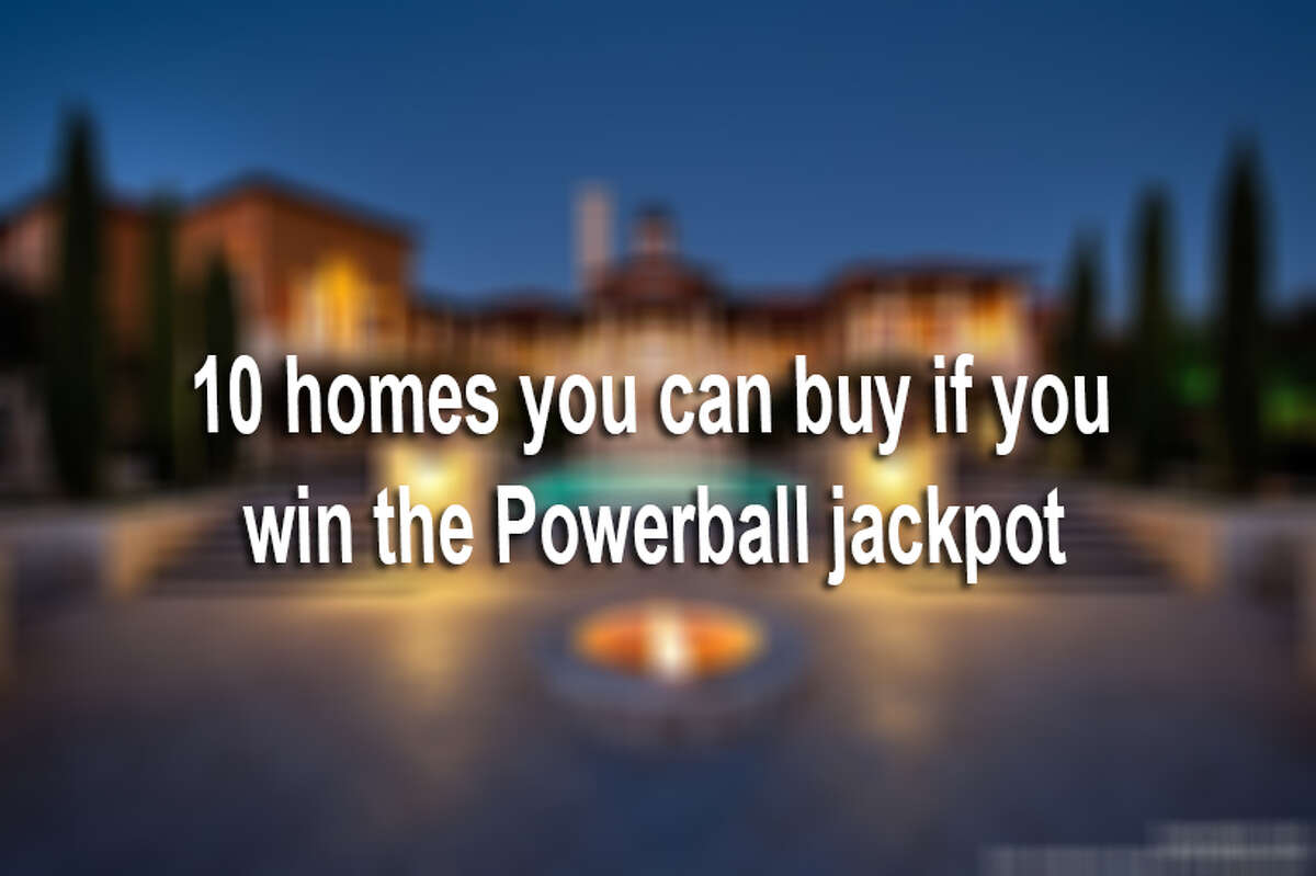 A winner is likely to be chosen in Wednesday's highly anticipated Powerball drawing. If that winner is you, here are some pretty gnarly mansions and penthouses to choose from. If that winner is not you, there's still room to dream.