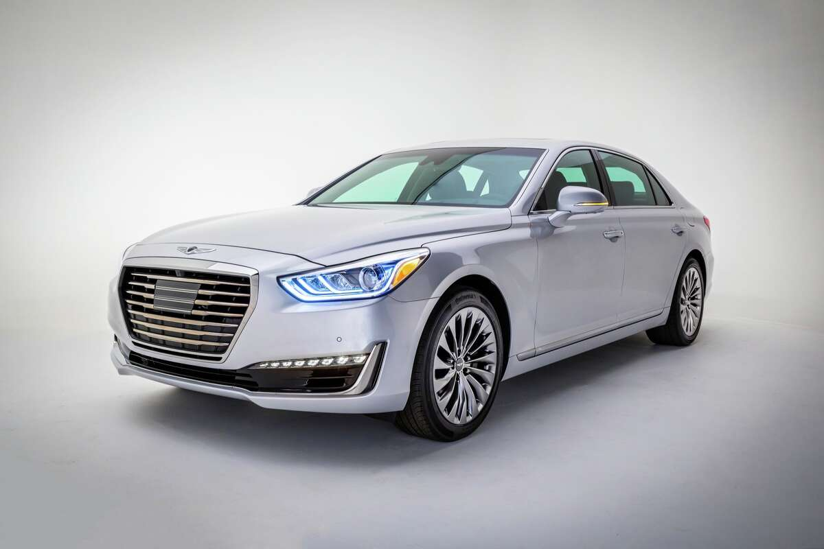 The 2017 Hyundai Genesis G90