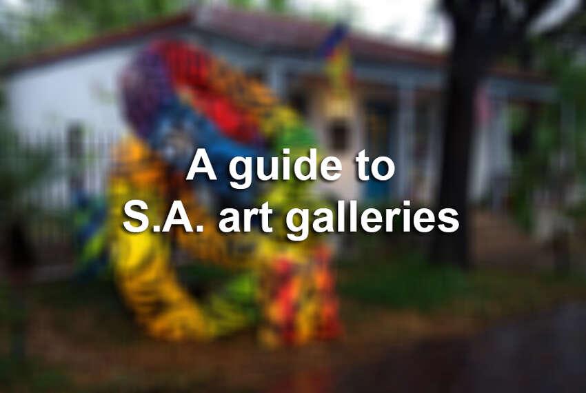 A guide to San Antonio art galleries