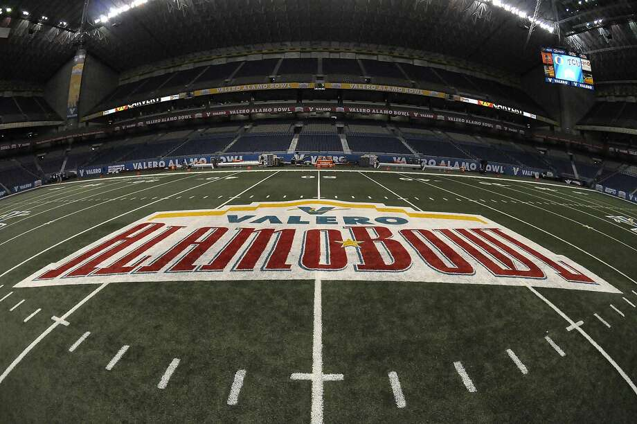 The Alamodome in San Antonio has been mentioned as one place the Raiders could play in temporarily if they decided to move to the Texas city and build a new stadium there. Photo: Max Faulkner, McClatchy-Tribune News Service
