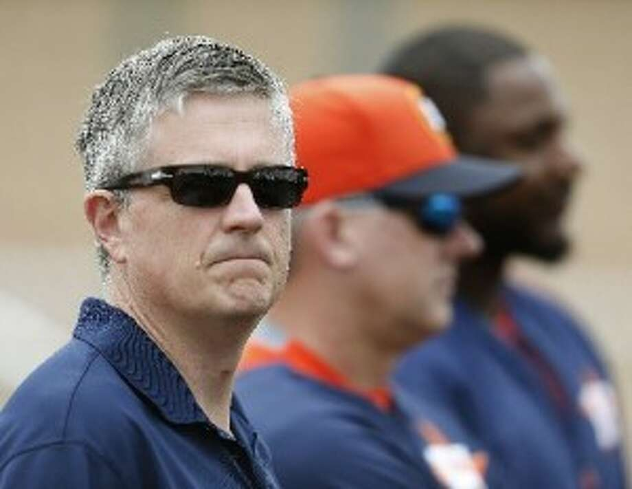 Astros general manager Jeff Luhnow