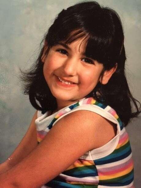 Ana Homayoun at age 4 Photo: Unknown