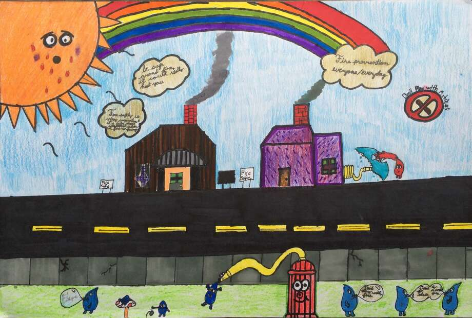Shelton Fire Poster winner 2016 Photo: Contributed / Contributed / Connecticut Post