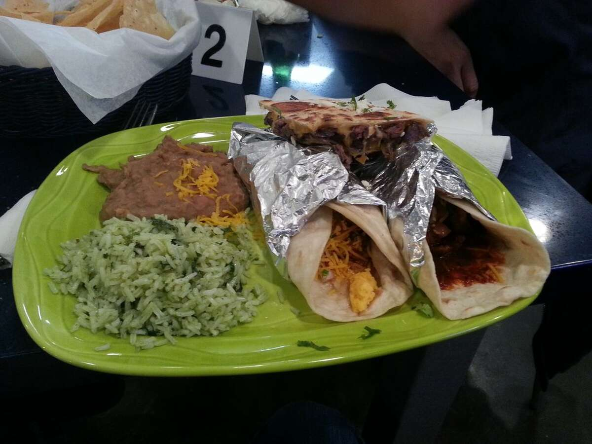 Caliente 790 W Sam Houston Pkwy. N, Ste. 112, Houston, Texas 77024 Demerits: 16 Inspection highlights: Food(s) not safe for human consumption; Food stored overnight at approximately 45-46 degrees. Witnessed multiple gnats flying around service area and laundry area. Photo by: Yelp/Keagan D.