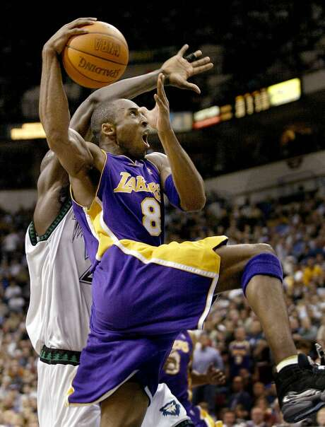 The Lakers' Kobe Bryant has averaged 25.57 points per game against the Warriors in his 20-season career, more than against any other team. Photo: Andy King, AP