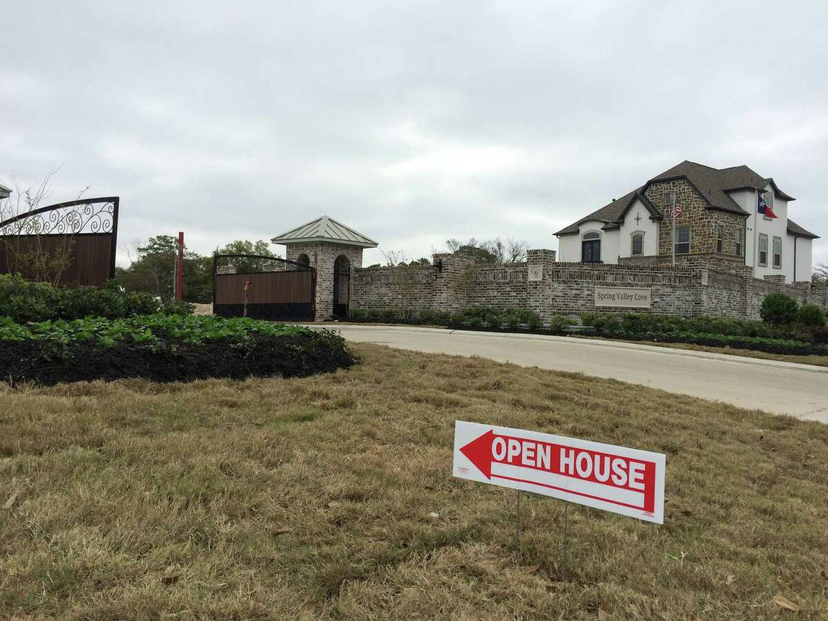 Homes for sale along Bingle Rd. in the Spring Branch area.