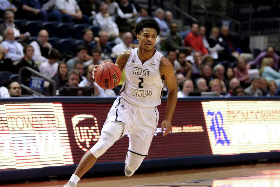 Rice's Marcus Evans is now the fastest player in school and conference history to hit the 1,000 career points mark. Photo: Rice Athletics