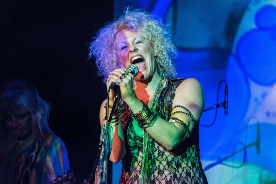 "Nederland native-turned-New Yorker Amber Martin as Janis Joplin in her show ""Janis: Undead."" Amber Martin is Janis: Undead, at the Cutting Room October 22, 2015 Photo: Provided By John Huntington"