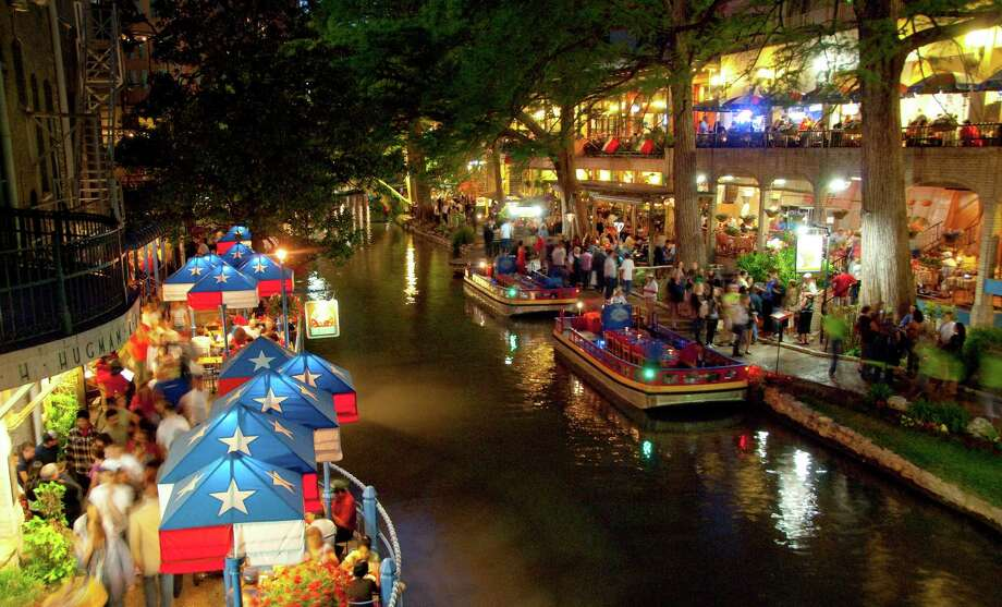 The River Walk Has Dozens Of Dining Options Available For Millions People Who Visit