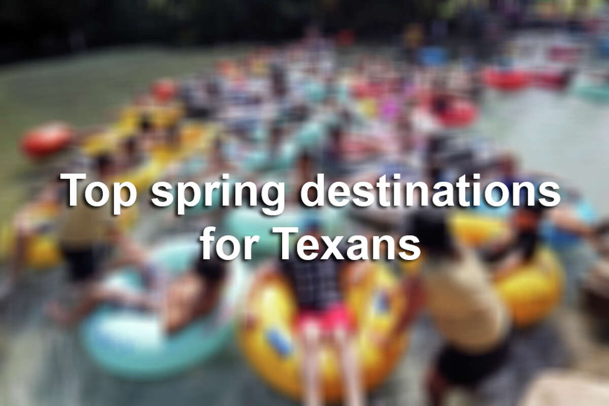 Spring is right around the corner, meaning its time to plan those vacations.Here is a list of Texas' most popular destinations for spring, along with colorful vacation homes in those areas.