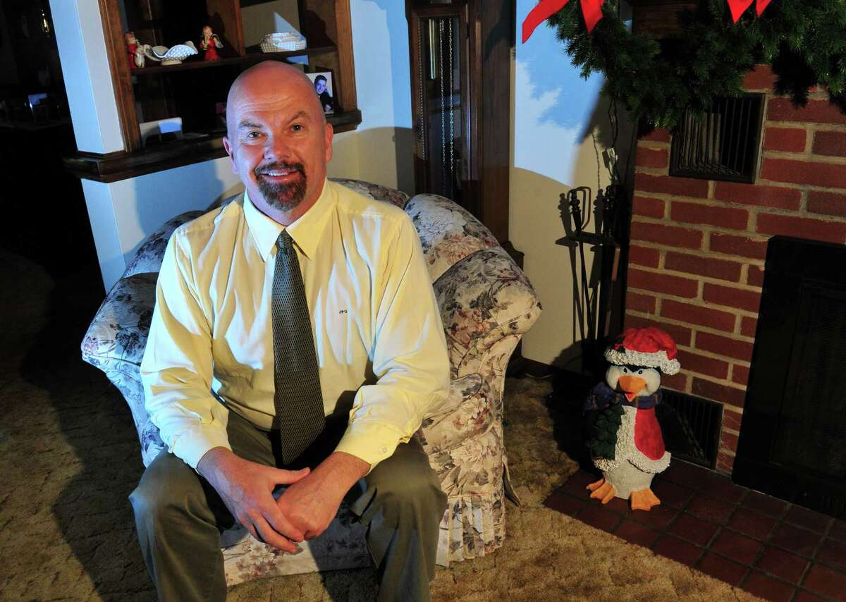 Joe Gresko in his home in Stratford, Conn. on Tuesday Dec. 22, 2015. Democrats in Stratford have nominated Gresko to run for Terry Backer's 121st seat in a special election slated for Feb. 2nd. Backer, a 12-term state representative, died last month