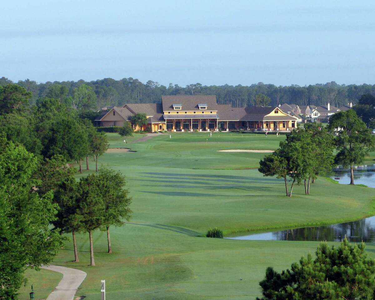 The Oakhurst golf course in Kingwood, one of the Friendswood Development Company's master-planned communities in Houston.