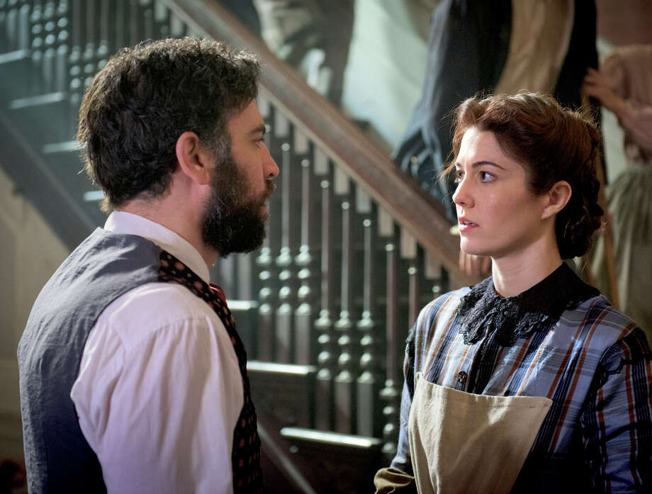 "Dr. Jedediah Foster (Josh Radnor) and nurse Mary Phinney (Mary Elizabeth Winstead) in ""Mercy Street."" Photo: Antony Platt / Antony Platt / PBS / Antony Platt/PBS"