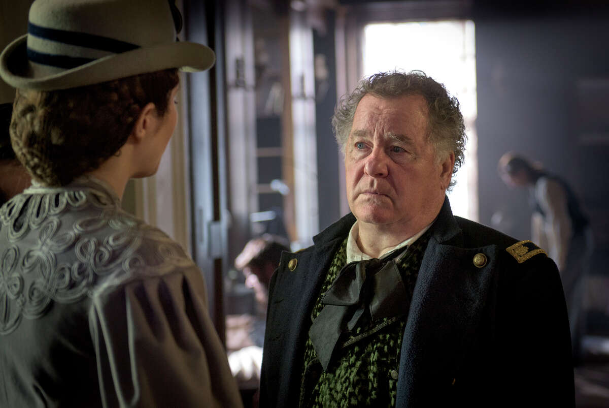 Mary Phinney (Mary Elizabeth Winstead) and Dr. Alfred Summers (Peter Gerety) in an exploration of history, social roles, passions and prejudice.
