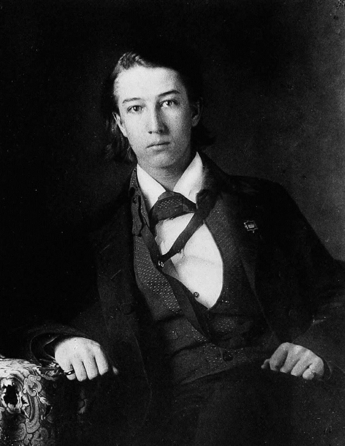 Sidney Lanier in 1857.