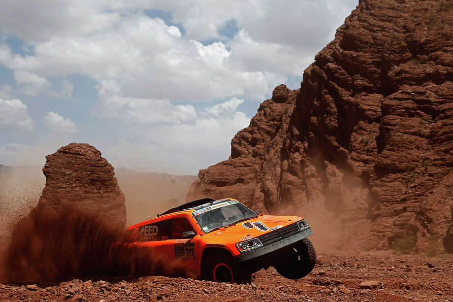 Robby Gordon of the United States of America and Kellon Walch of the United States of America in the GORDINI SC1 for TEAM SPEED ENERGY compete on day 9 stage eight from Salta to Bellen during the 2016 Dakar Rally on January 11, 2016 in near San Rafae Salta, Argentina. Photo: Dean Mouhtaropoulos, Getty Images / 2016 Getty Images